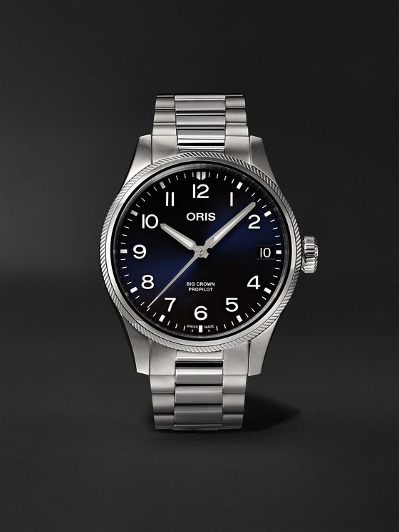 Oris Big Crown ProPilot Big Date Automatic 41mm Stainless Steel Watch, Ref. No. 01 751 7761 4065-07 8 20 08P