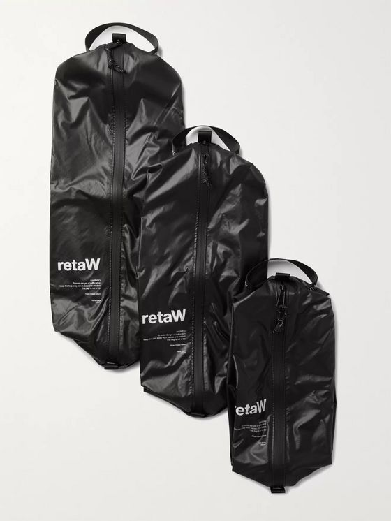 retaW Three-Pack Nylon Pouch Set