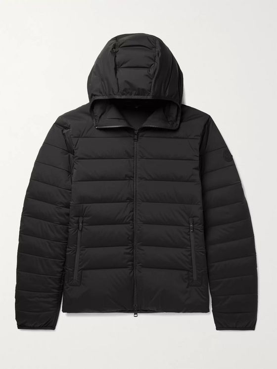 MONCLER Eze Quilted Shell Down Hooded Jacket