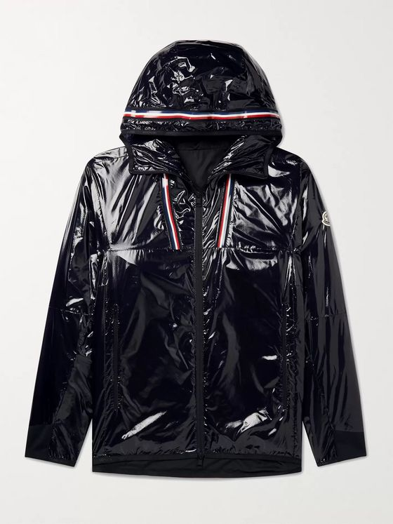 MONCLER Marly Glossed-Ripstop Hooded Windbreaker