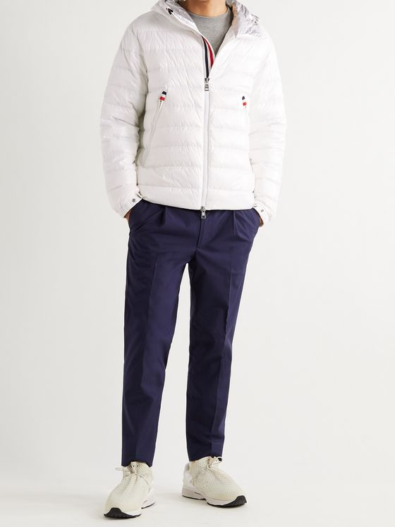 MONCLER Blesle Slim-Fit Quilted Shell Hooded Down Jacket