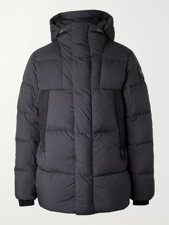 Canada Goose Black Label Osborne Quilted Shell Down Hooded Parka