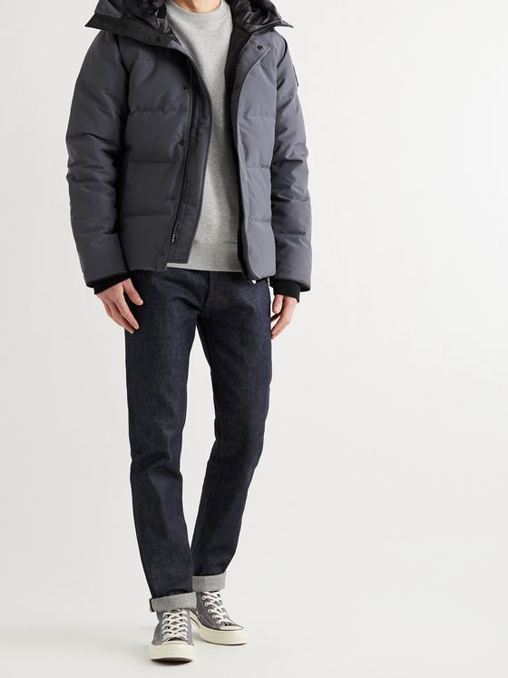 CANADA GOOSE Black Label MacMillan Quilted Arctic Tech Hooded Down Parka