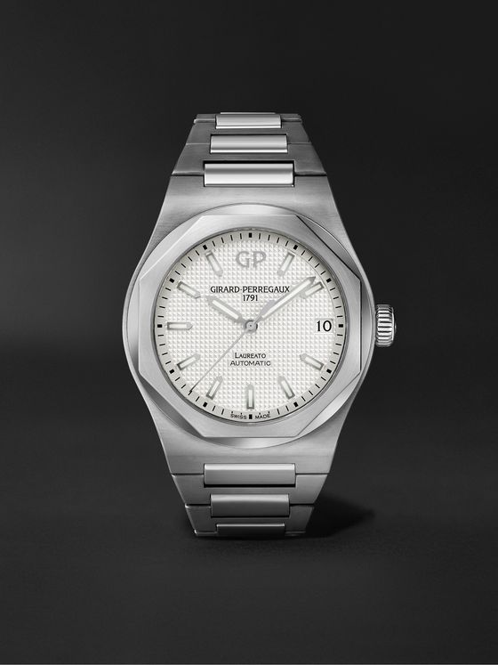 Girard-Perregaux Laureato Automatic 42mm Stainless Steel Watch, Ref. No. 81010-11-131-11A