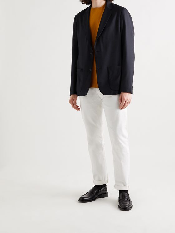 MR P. Lightweight Unstructured Cashmere and Silk-Blend Jacket