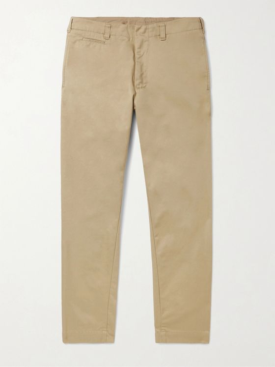 NANAMICA Tapered Cotton-Blend Twill Chinos