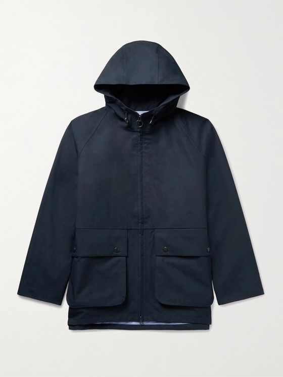 NANAMICA Cruiser GORE-TEX Cotton Hooded Jacket