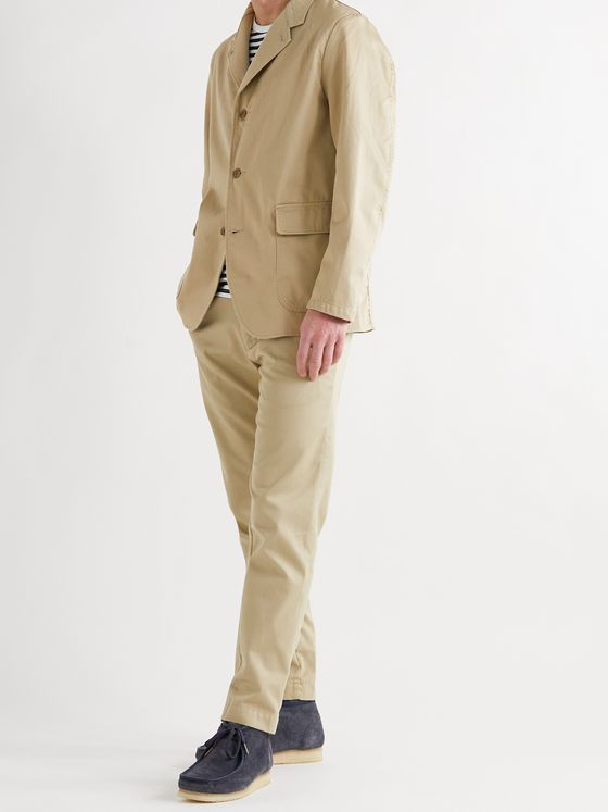 NANAMICA Chino Club Unstructured Cotton-Blend Twill Blazer