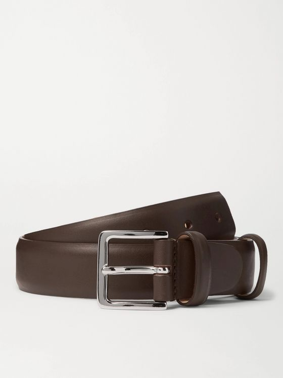 Mr P. 3cm Leather Belt