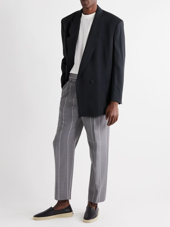 Fear of God for Ermenegildo Zegna Slim-Fit Double-Breasted Wool Blazer