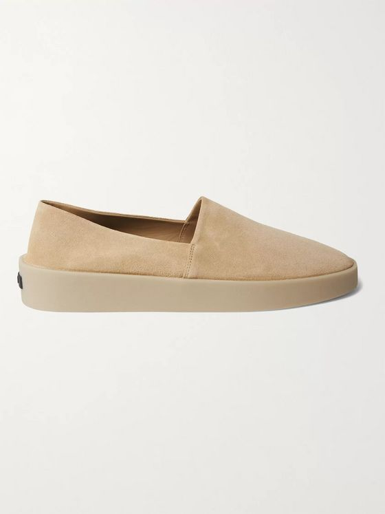 Fear of God for Ermenegildo Zegna Suede Espadrilles
