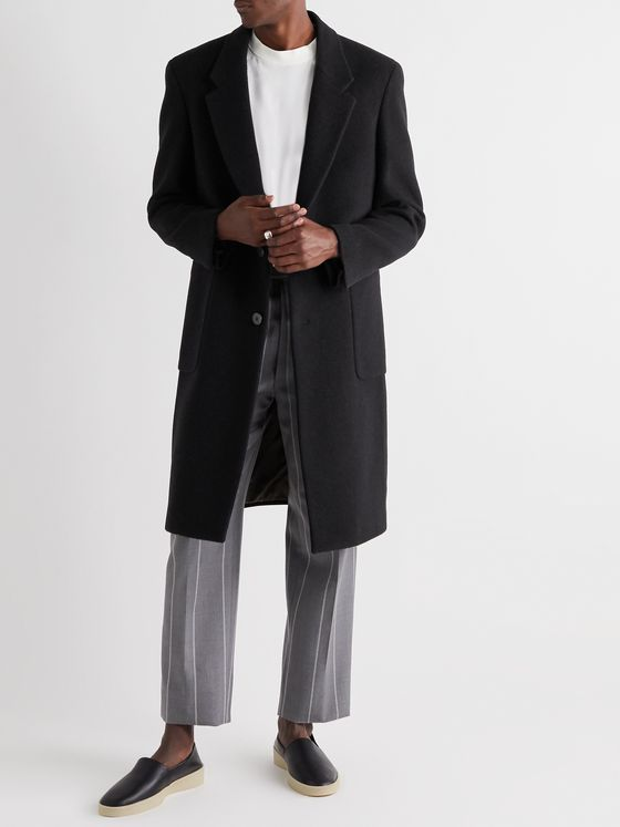 Fear of God for Ermenegildo Zegna Wool Overcoat