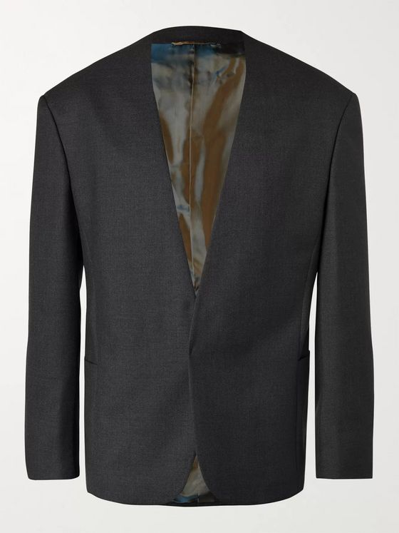 Fear of God for Ermenegildo Zegna Slim-Fit Collarless Wool Blazer