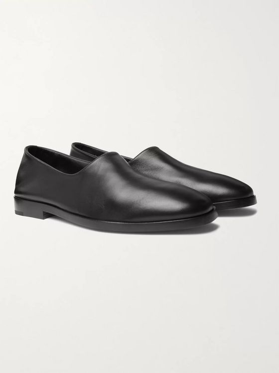 Fear of God for Ermenegildo Zegna Leather Loafers