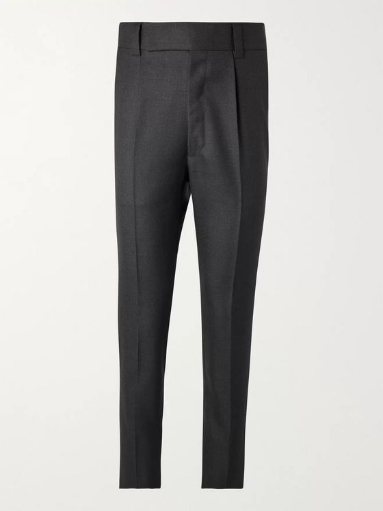 Fear of God for Ermenegildo Zegna Slim-Fit Pleated Wool Trousers