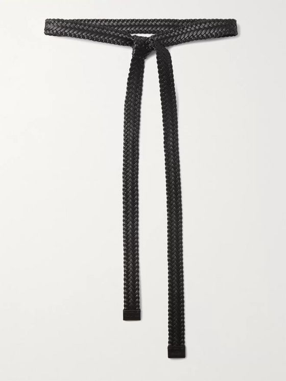 Fear of God for Ermenegildo Zegna 4cm Braided Leather Belt