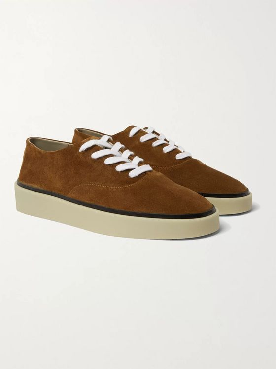 Fear of God for Ermenegildo Zegna Suede Sneakers