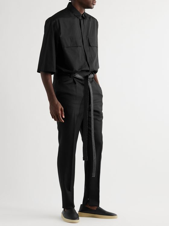 Fear of God for Ermenegildo Zegna Oversized Cotton-Poplin Shirt