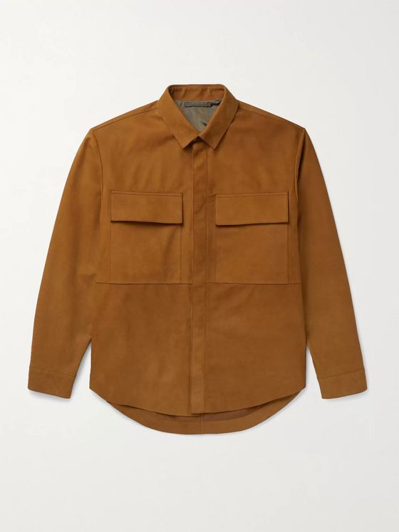 Fear of God for Ermenegildo Zegna Nubuck Overshirt