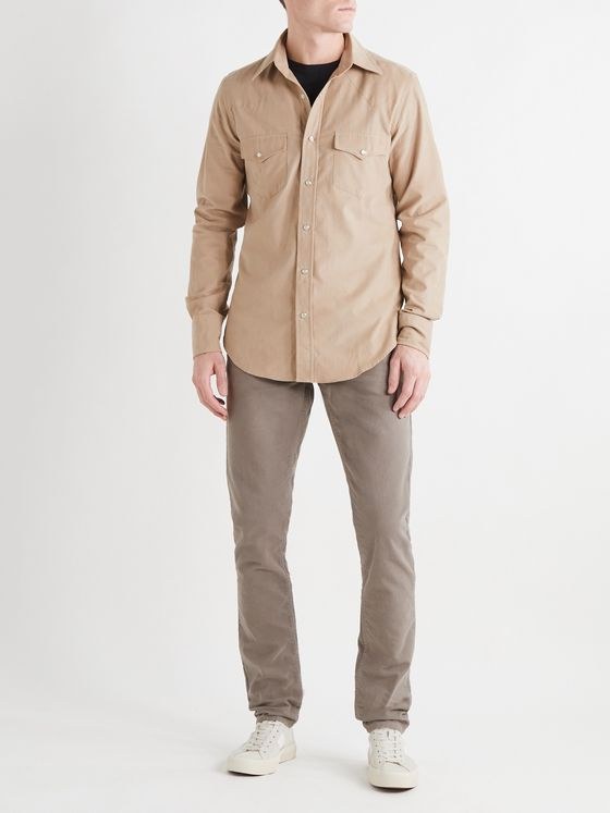 TOM FORD Cotton-Corduroy Shirt