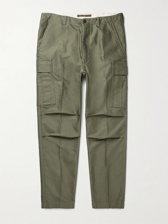 TOM FORD Cotton-Twill Cargo Trousers
