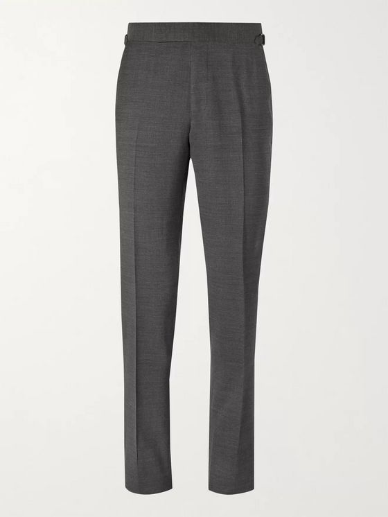 TOM FORD O'Connor Slim-Fit Wool-Blend Suit Trousers