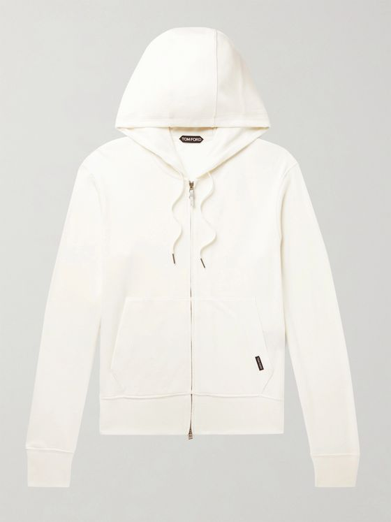 TOM FORD Slim-Fit Cashmere-Jersey Hoodie