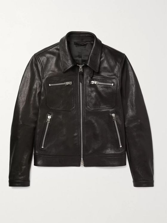 TOM FORD Leather Blouson Jacket