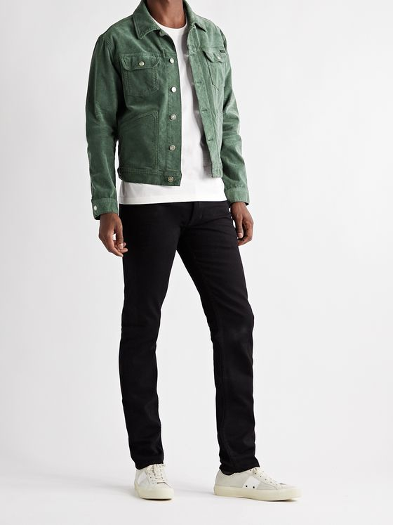 TOM FORD Cotton-Blend Corduroy Jacket
