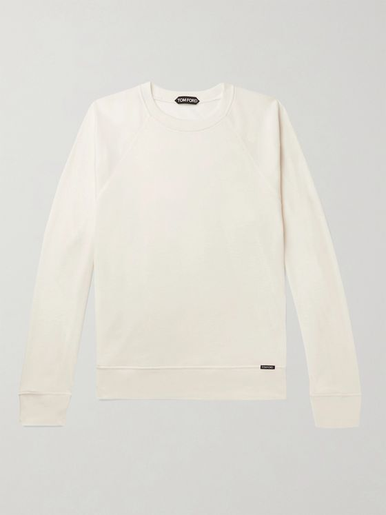 TOM FORD Slim-Fit Cashmere-Jersey Sweater