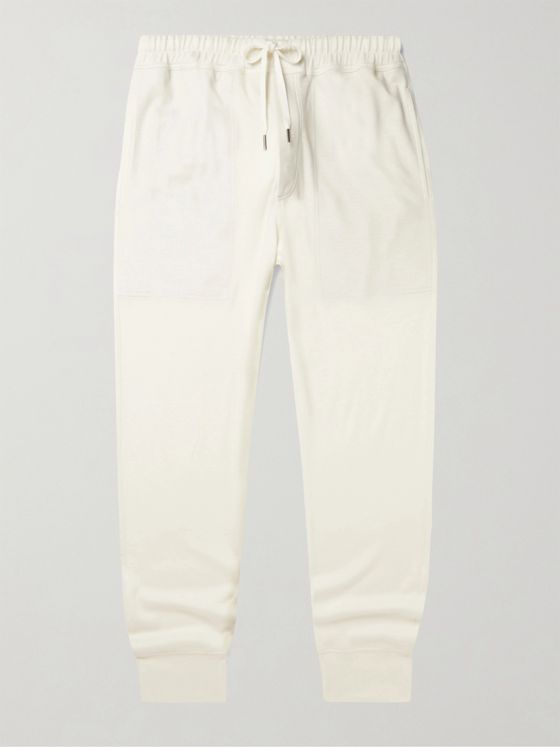 TOM FORD Tapered Cashmere-Jersey Sweatpants
