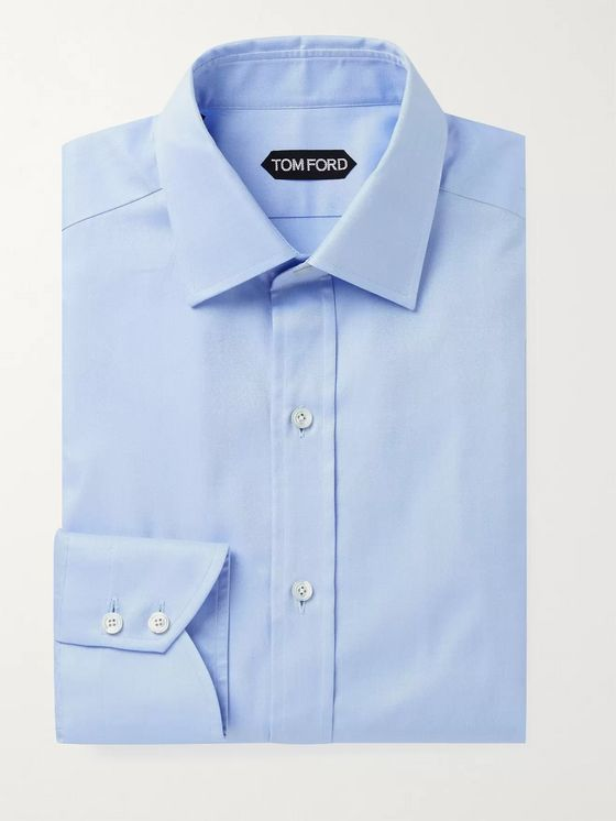 TOM FORD Slim-Fit Cotton-Twill Shirt