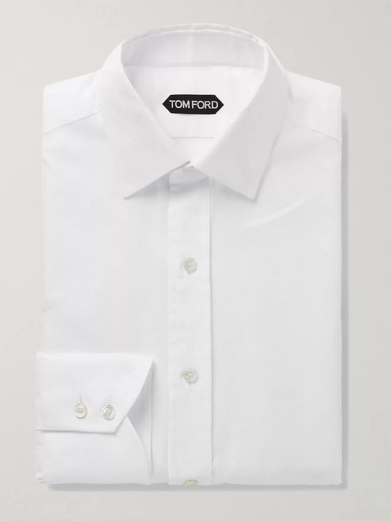 TOM FORD Slim-Fit Cotton Oxford Shirt