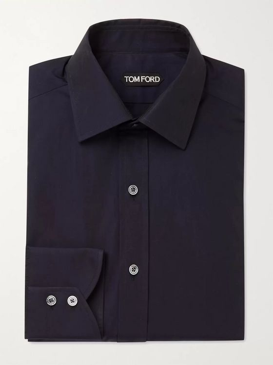 TOM FORD Slim-Fit Cotton Shirt