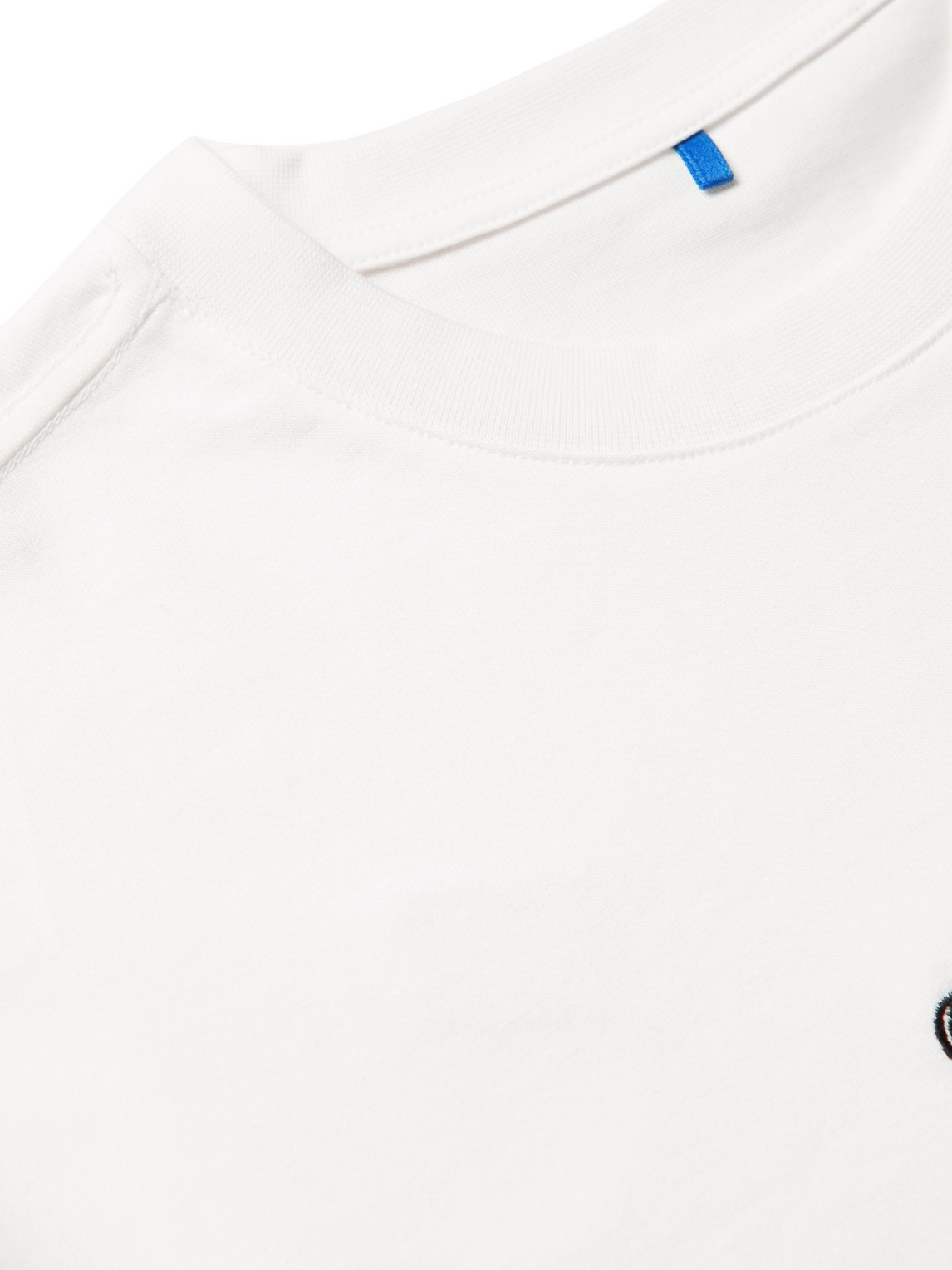 ADER ERROR Cottons EMBROIDERED PRINTED COTTON-JERSEY T-SHIRT