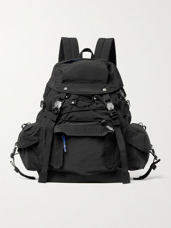 Ader Error Nylon and Cotton-Canvas Backpack