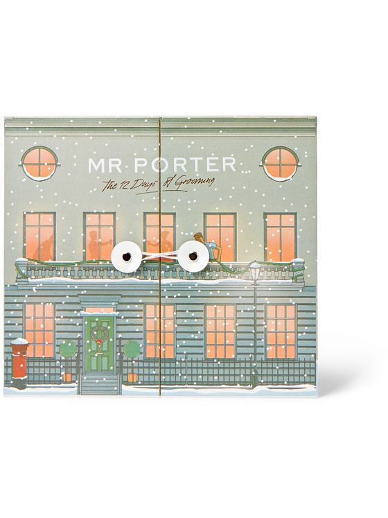 MR PORTER GROOMING 12 Days of Grooming Advent Calendar