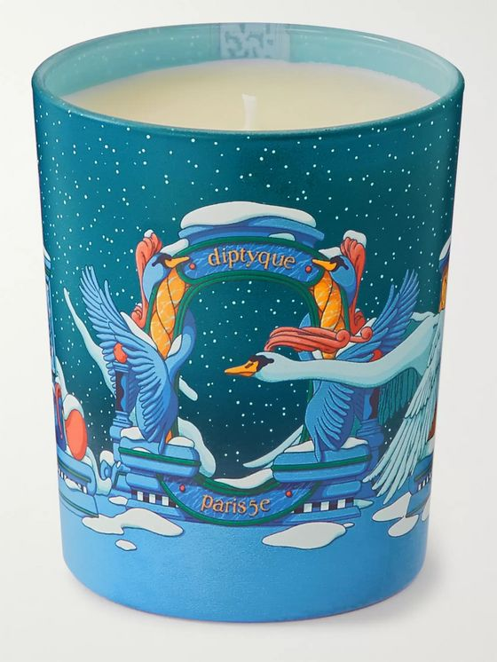DIPTYQUE Ambre Plume Scented Candle, 190g