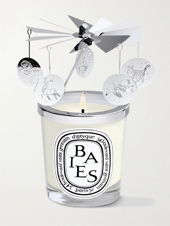 DIPTYQUE Christmas Scented Candle and Carousel Set, 2 x 70g