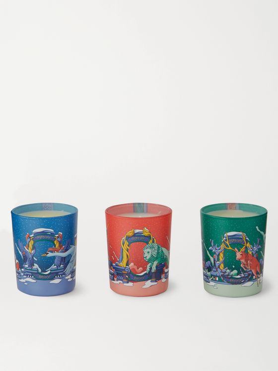 DIPTYQUE Scented Candle Set, 3 x 70g