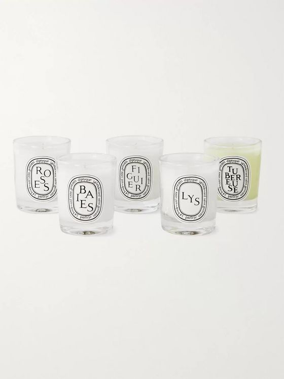 Diptyque Miniature Scented Candle Set, 5 x 35g