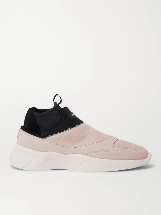 FEAR OF GOD ESSENTIALS Suede, Mesh and Neoprene Sneakers