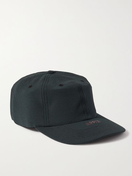 AFFIX Logo-Embroidered Ripstop Baseball Cap