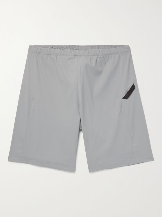 AFFIX Flex Wide-Leg Stretch-Shell Shorts