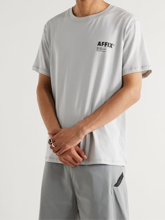 AFFIX Standardised Logo-Print Organic Cotton-Jersey T-Shirt