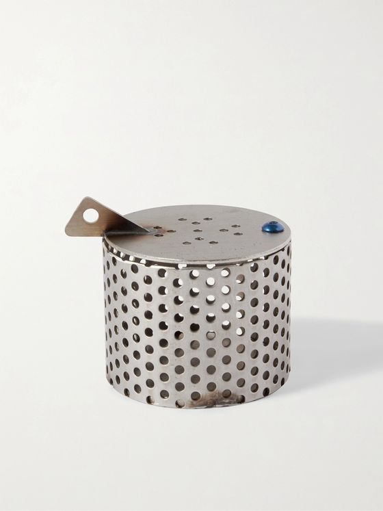 AFFIX Laser-Cut Stainless Steel Incense Burner