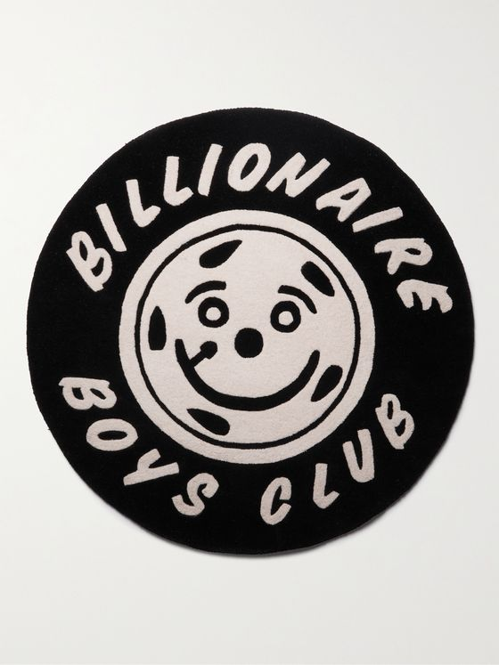 BILLIONAIRE BOYS CLUB Smiling Wheel Wool-Jacquard Rug
