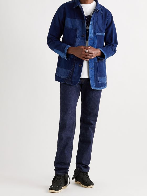 BLUE BLUE JAPAN Slim-Fit Selvedge Denim Jeans