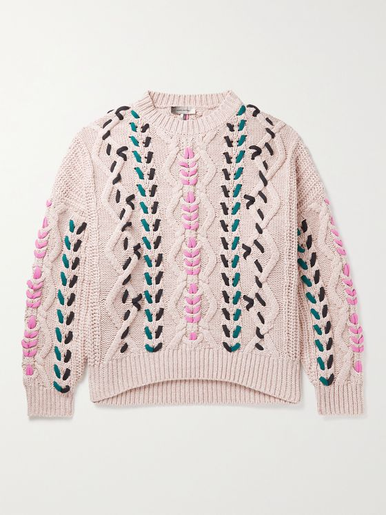 ISABEL MARANT Cable-Knit Sweater