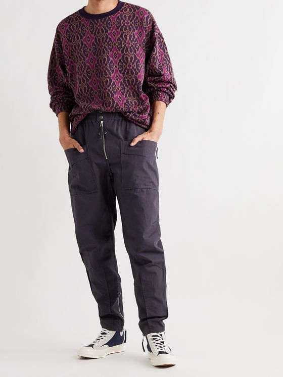 ISABEL MARANT Tilsen Cotton Cargo Trousers